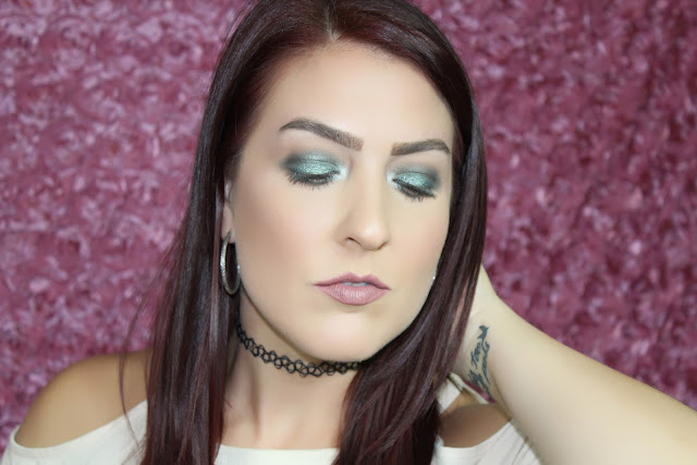 Tutorial: Morphe x Jaclyn Hill Palette Easy Green Smokey Eye