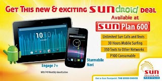 Starmobile Engage 7+ tablet and Navi phone Free on Sun Plan 600