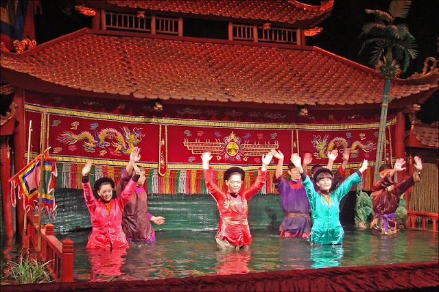 Water Puppet Show - Distinct Uniqueness Of Northern Vietnam Tour 1