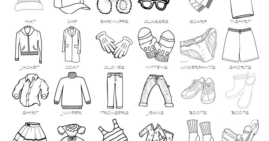 blogteacheralfonso: Clothes vocabulary (2)