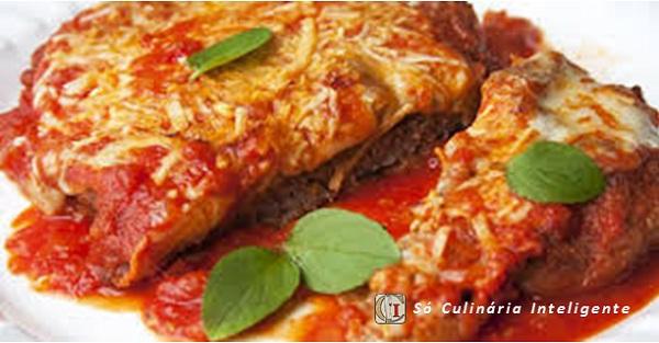 Filés à Parmegiana de Carne Moída (Imagem: Reprodução/Internet)