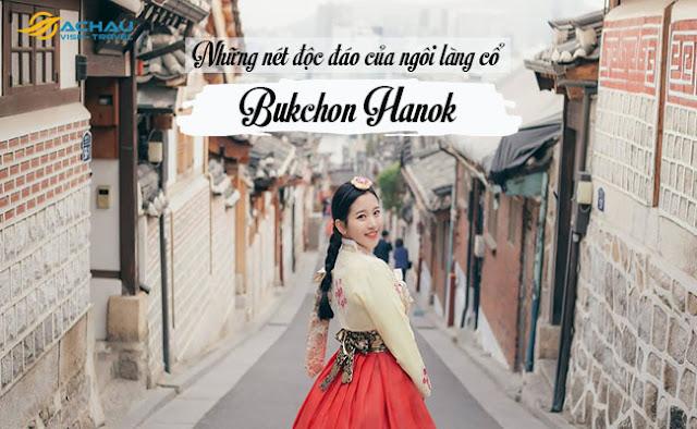 Những nét độc đáo của ngôi làng cổ Bukchon Hanok1