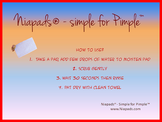 Niapads Face Cleansing Pads for Acne and Acne Scars Review