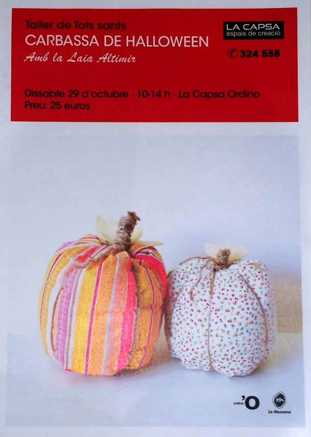 maguiandmi, taller, costura, halloween, calabaza