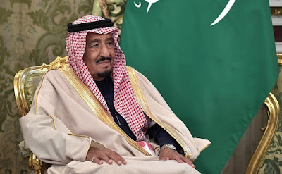 King Salman bin Abdulaziz Al Saud of Saudi Arabia.