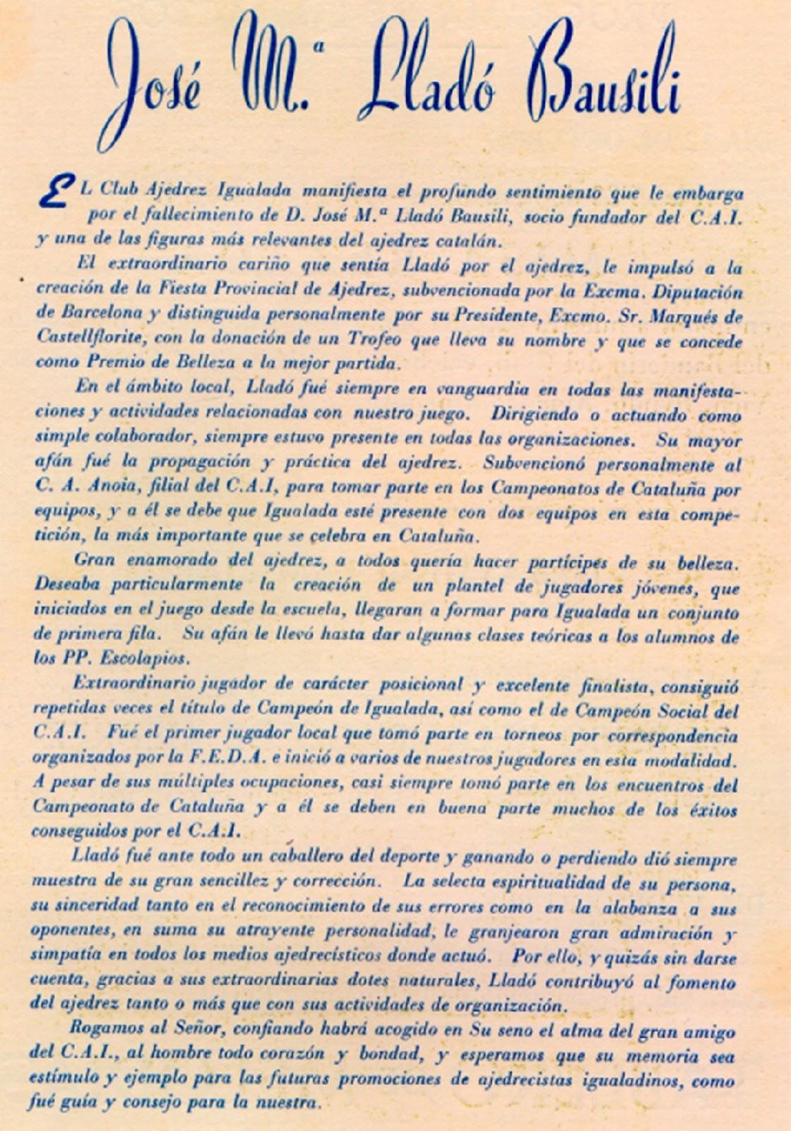 Sobre Josep Maria Lladó i Bausili