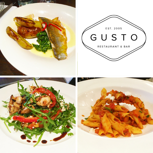 Lunch with the Girls at Gusto on Newcastle Quayside