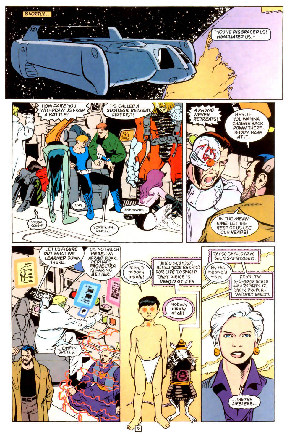 Legion of Super-Heroes (1989) 45 Page 8