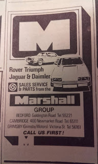 Marshall Group advert from March 1979