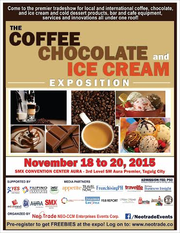 The Coffee Chocolate Ice Cream Expo Holiday Travel Dining Deals Nov 2015