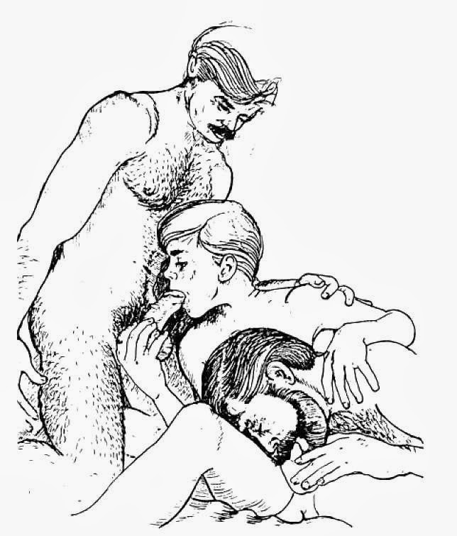 Daddy gay drawings