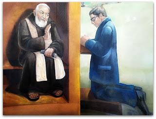 Confissão - Ermida de São Pio, Faxinal do Soturno (RS)