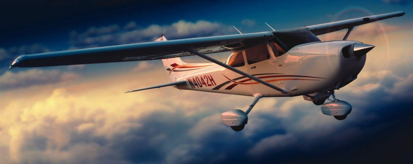 Jet airlines cessna 172 skyhawk - 4k cockpit wallpaper ...