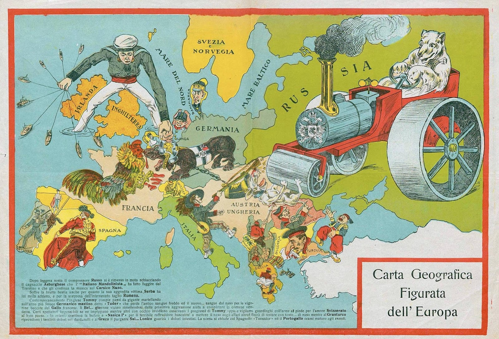Europe (1917) (Italian)