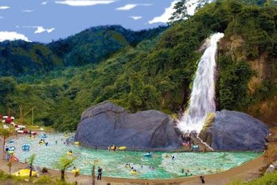 wisata alam curug bidadari