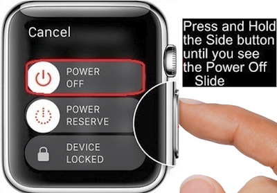 Master Reset Apple Watch Series 3