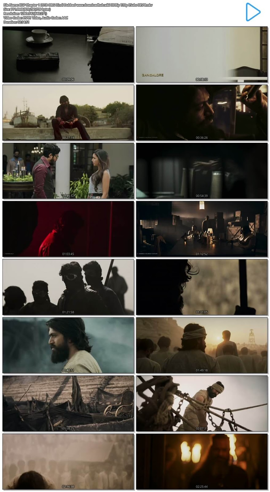 KGF FULL MOVIE DOWNLOAD IN HINDI CHAPTER 1 - MOVIES CINEMAXX 24