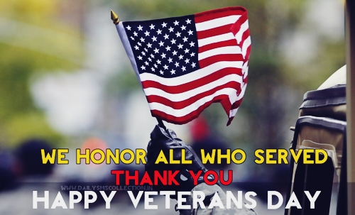 Top 100 Happy Veterans Day in English 2019