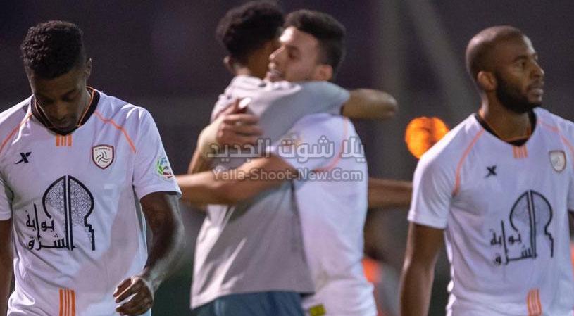 نادي الشباب يعود بفوز هام من امام الحزم في الجولة 14 من الدوري السعودي