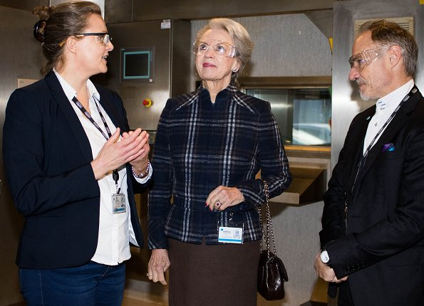 Xellia Pharmaceuticals ApS Company has been supporting SOS Children's Villages. Princess Benedikte of Denmark