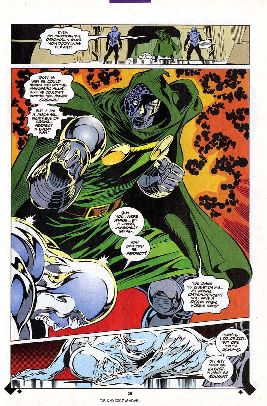 Read online Silver Surfer (1987) comic -  Issue #107 - 31