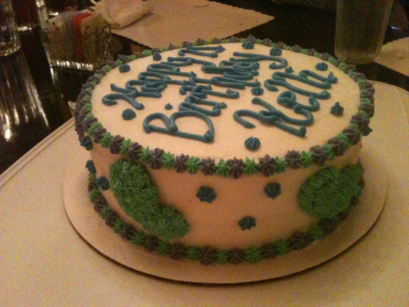 Creations For Celebrations Happy Birthday Kelli