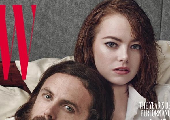 エマ・ストーン(Emma Stone)W Magazine 2017年2 月号