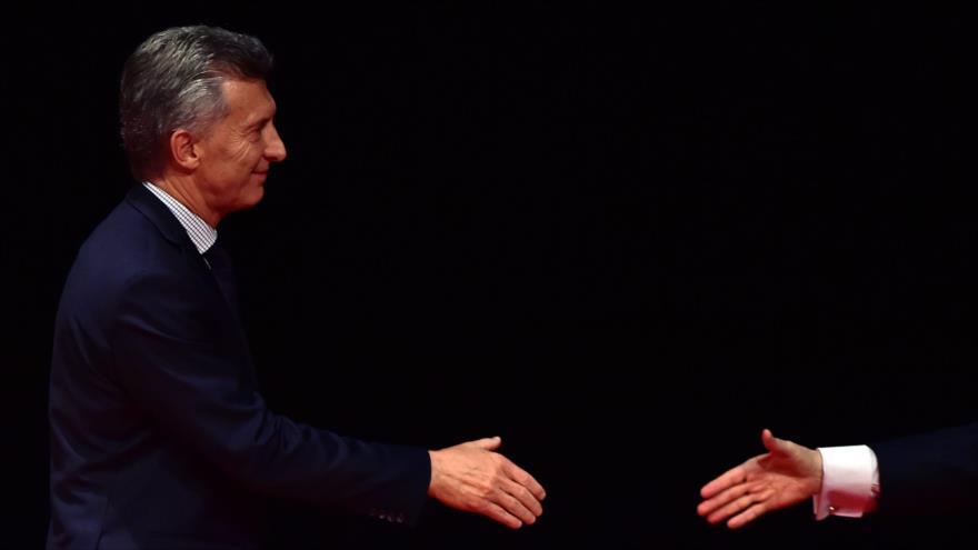 Macri tilda protesta en su contra de 'resistencia' al diálogo