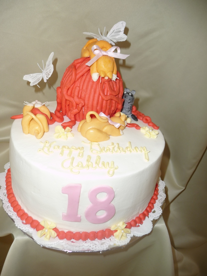 Icing On Top Cakes For Every Occasion Cats And Ferret Birthday Cake
