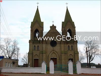 Раков. Костел Богоматери Руженцовой и святого Доминика