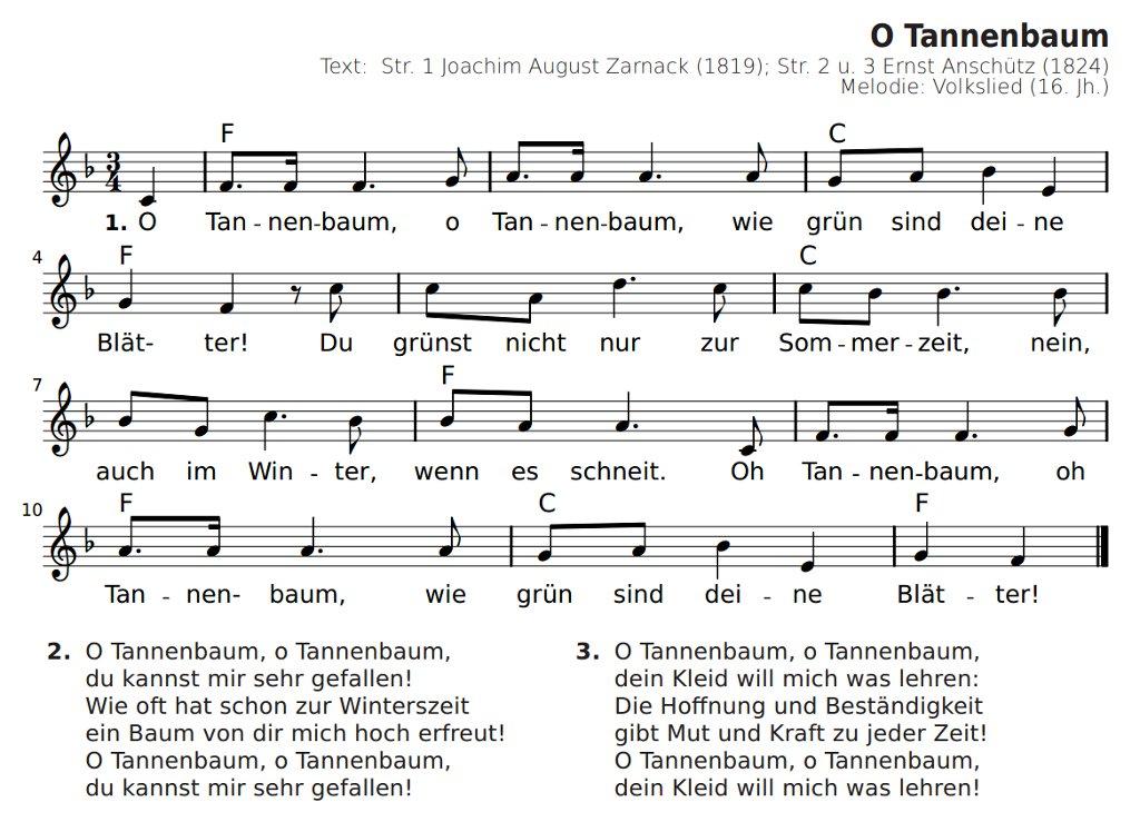 Oh Tannenbaum Text Lustig