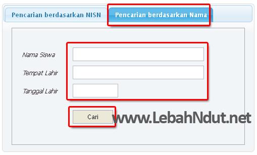 Cara Melihat NISN Nomor Induk Siswa Nasional Online