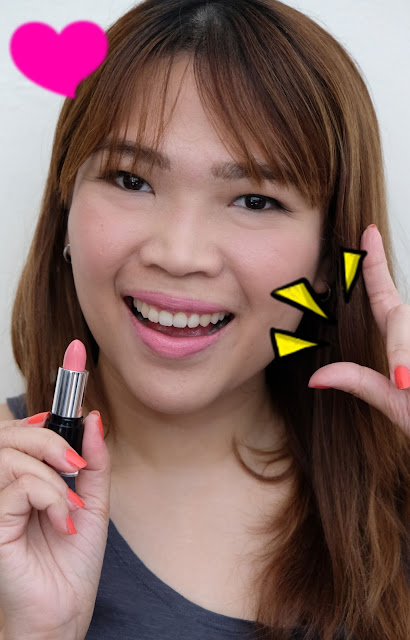 a photo of Pop Beauty Matte Velvet Lipstick review in Pink Porcelain by nikki tiu of www.askmewhats.com