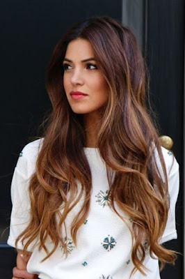long brown light hair style idea