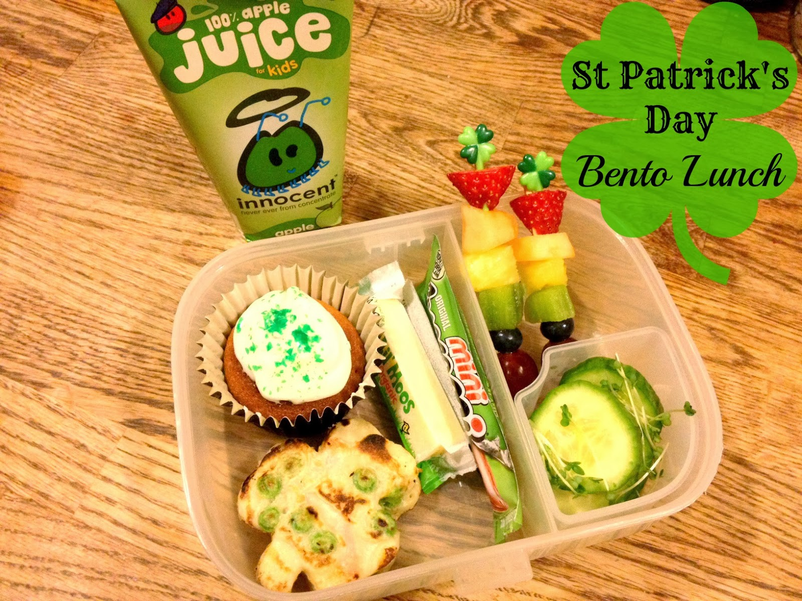 St Patrick's Day Bento Lunch Box