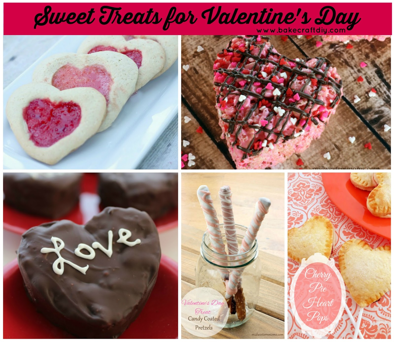 Bake Craft & DIY: Sweet Treats for Valentine's Day