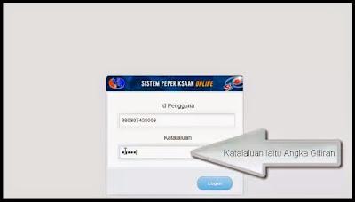 sistem peperiksaan online spa