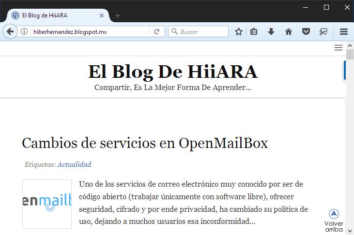 Firefox 55 es lanzado - El Blog de HiiARA