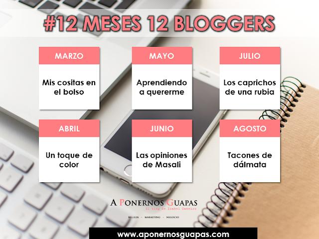 #12 meses 12 bloggers Oriflame A Ponernos Guapas