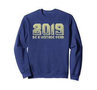 Great 2019 Be A Vintage Year T-shirt for Christmas Gifts