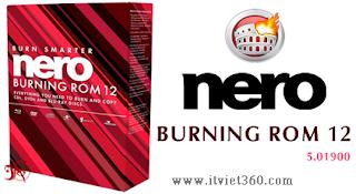 nero 12 burning, phần mềm ghi đĩa chuyên nghiệp
