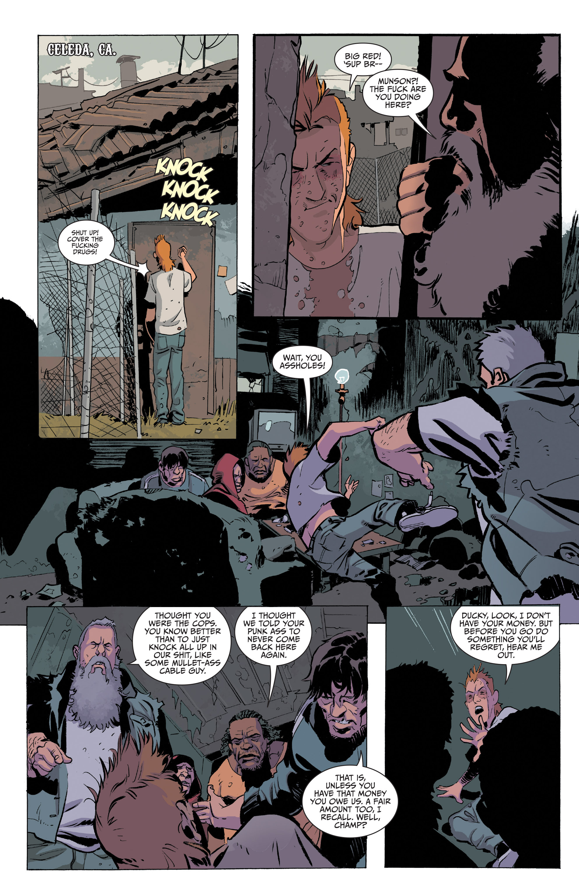 Read online Sons of Anarchy comic -  Issue #20 - 10