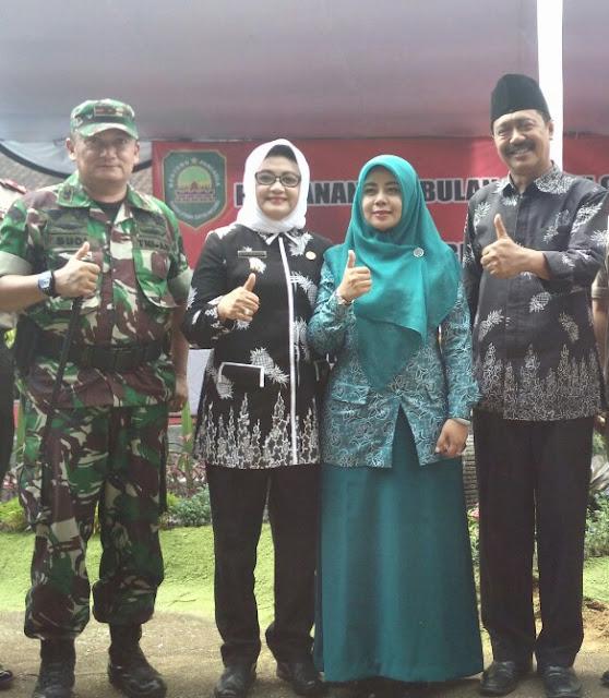 Ketua DPRD Salut dan Bangga Melihat Ketegaran Istri Ojang Sohandi