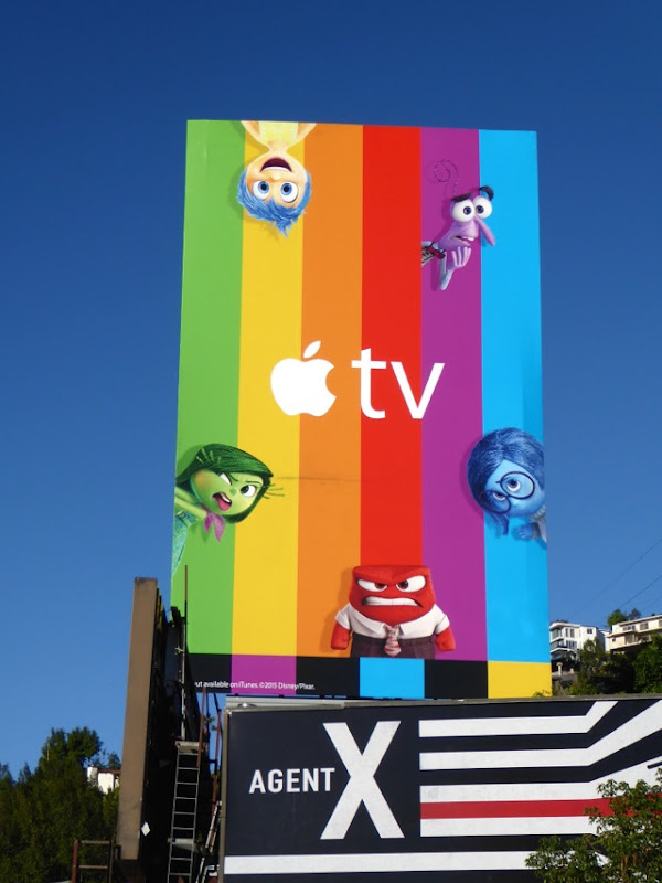 Inside Out Apple TV billboard