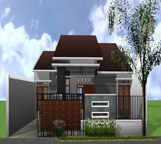 Model Rumah Minimalis Sederhana Nampak Elegan