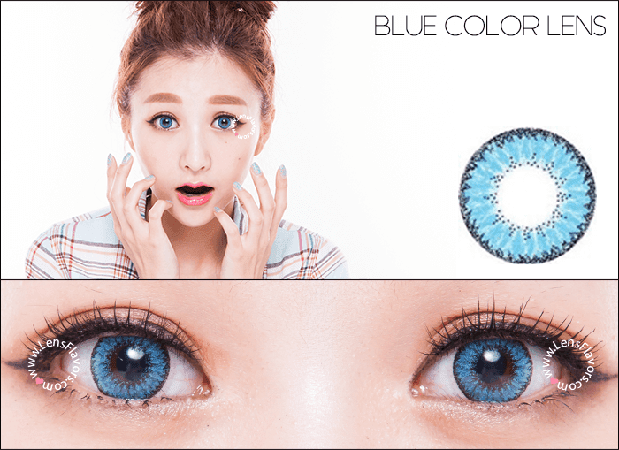 eos fairy blue circle lenses