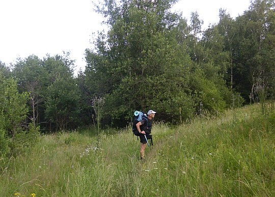 Przełęcz Majdan (625 m n.p.m.).