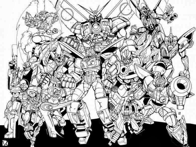 transformers malvorlagen