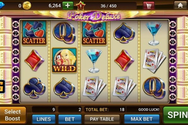 another screen of online slot game