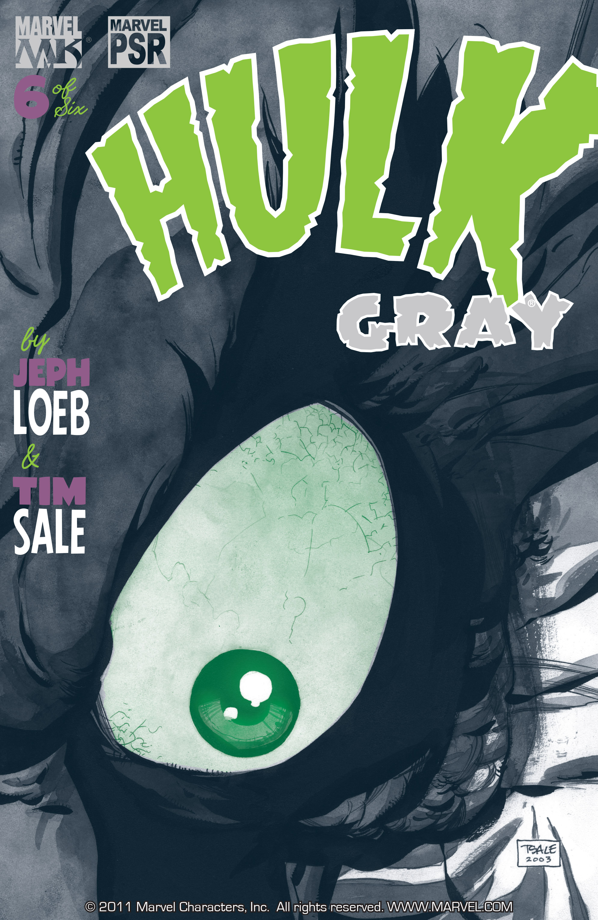 Read online Hulk: Gray comic -  Issue #6 - 1